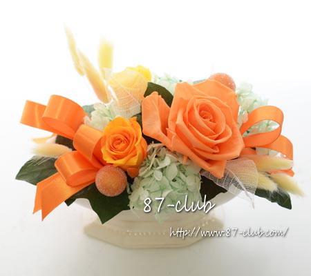 プリザーブドアレンジ