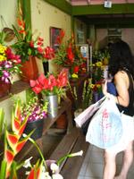バリのお花屋さん