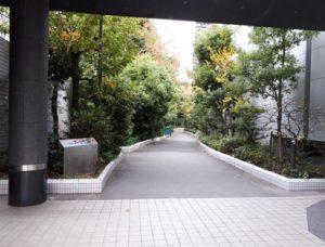 ⑤遊歩道入口