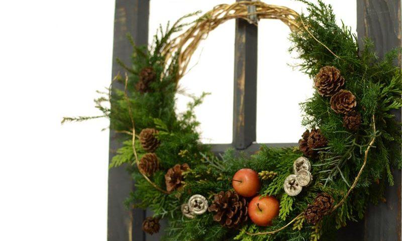 クリスマスリース3タイプ